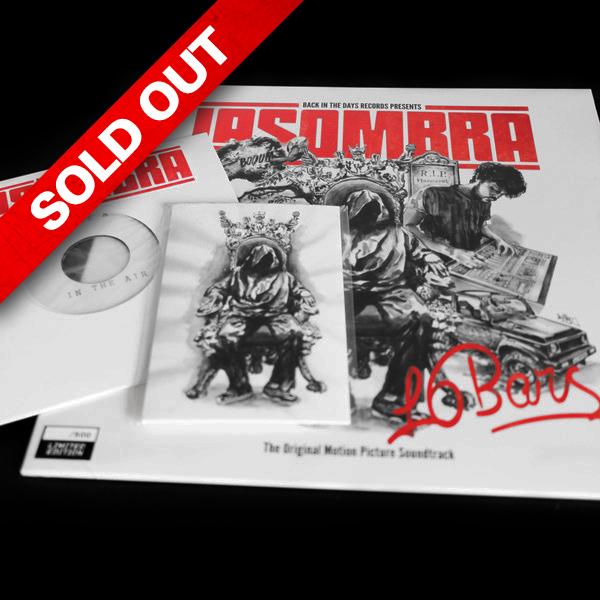 La Sombra – 16 BARS Pack (LP 12″ + 7″) – Back in the days records